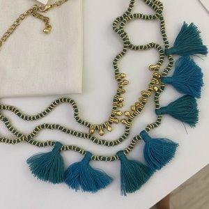 NWOT Bluma Project Luna Three Tiered Necklace